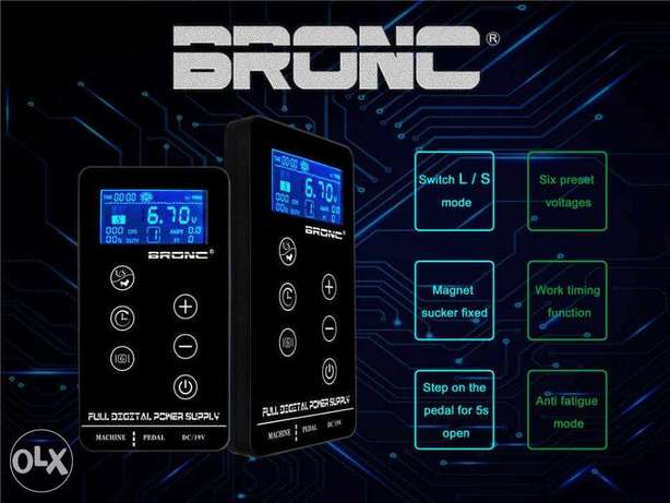 New hummingbird Bronc Power tattoo Supply In 3 Ampere