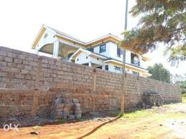 A 4 Bedroom house for sale in Ngoigwa ,Thika