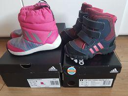 Stan idealny Buty 24 zimowe Adidas rozmiar 24 Ostrzeszów
