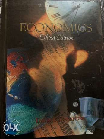 Economics Third edition (David C.Colander)