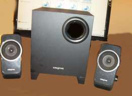 PC Desk top Stereo 3 Speaker system.