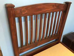 stained Pine Bed -Kids