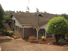 Five Bedroom Mansionatte to Let In Ngong