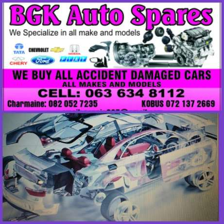 We buy accident damaged cars for cash in any condition. Pretoria West - image 1