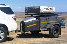 2003 Stainless Steel Griffin Camping Trailer