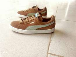 Authentic Puma suede sneakers