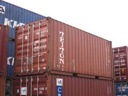 Twenty(20) ft shipping container cube for sale