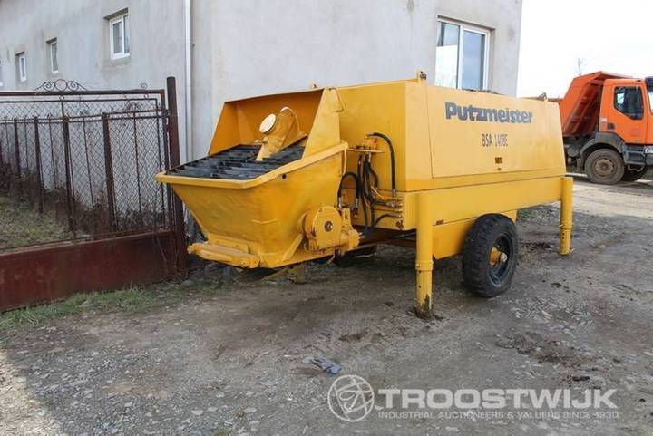 Putzmeister BSA1408E - 2001