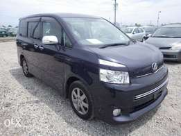 Toyota Voxy Year 2010 Model Automatic 7 Seater Purple Color KCN