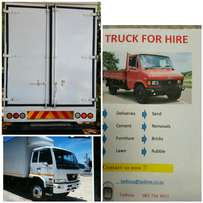 Trucks for Hire. Removals. Storage!!