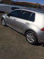 Golf7 TSI, 2014 Model with 4 Doors, Factory A/C and C/D