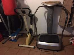 Crazy Fit Massage and Exercise Bike