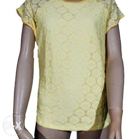 Forever 21 Short Sleeve Lace Top Abuja - image 2