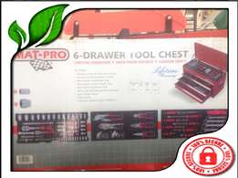 Mat Pro 6 Drawer Tool Chest