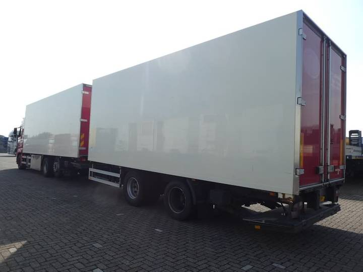 Van Eck CLOSED BOX tail lift combi - 2001