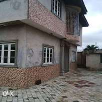 New and fresh 3bedroom flat to let martins akute 400k