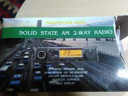 Navstar 220 29 mhz Two way radio for sale