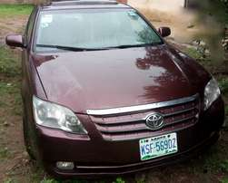 A Toyota Avalon 2006 model is up for sale