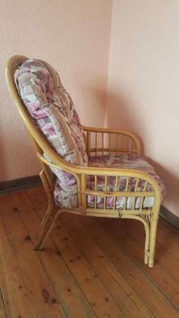 Pair of Cane Chairs With Cushions Kensington - image 5