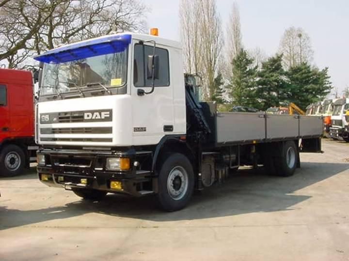 DAF 95.350 - 4x2 - Crane Pesci - 1990