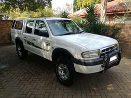 2002 Ford Ranger 2.5TD XLT 4X4 D/C in Excellent Condition