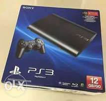 ony PlayStation 3 PS3 Super Slim Console new with Full Warranty