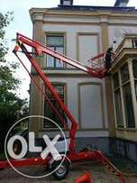 Total Access: Cherry picker for rent