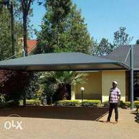 Car shades canopies and function tents 3k per square metre