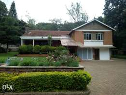 A 5 bedroom bungalow house to let.