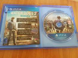Watchdogs 2 PS4 Mint condition