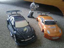 R/C car with changeable bodykits