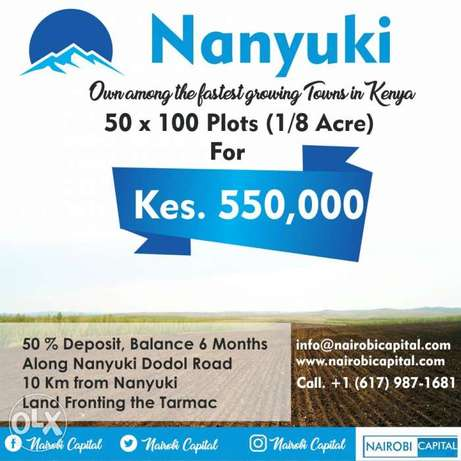 Ready title, no blockers, instalments accepted. Nakuru East - image 1