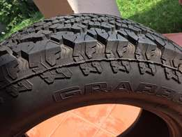 4x4 Tyre tubeless radial 255/60 R18 112H GRABER AT