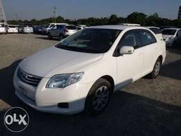Toyota Axio Year 2010 Automatic Transmission White KCP Ksh 990K