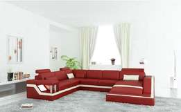 Dia gnashing red sofa set of chair
