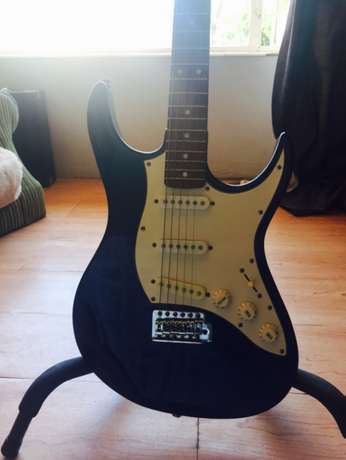 Aria STG - series midnight blue electric guitar Proteapark - image 1