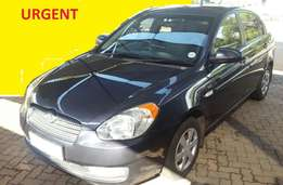 Huyndai Accent 1.6 Automatic, 2007. Full Service History!!