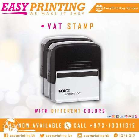 VAT Stamp for Tax-In-voice - With Free Delivery Service!