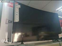 Brand New 55 TCL Smart Curved UHD LED TV. Delivery allowed