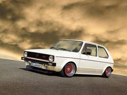 Any Golf mk1 or Caddy bakkie for sale for 25k