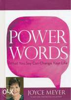 Power Words: What You Say Can Change Your Life By:Joyce Meyer
