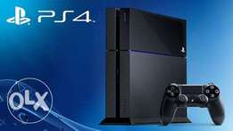 PlayStation 4 used for 8 months in a very good condition