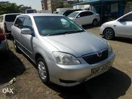 Toyota Runx in great condition. Buy and drive