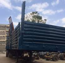 44ft Bhachu High Sided Trailer For Sale