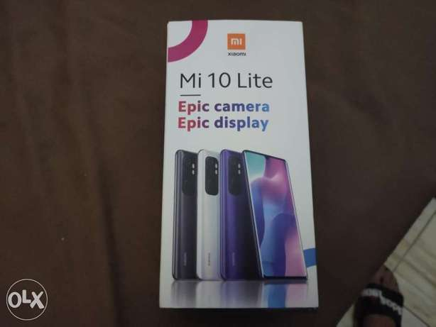 Xiaomi mi note 10 lite with air bodes and power bank