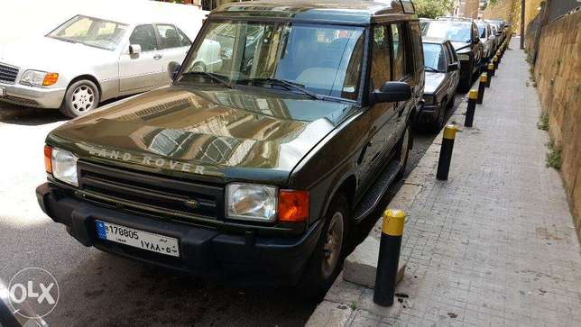 Land Rover Discovery 1999. Lebanese co. source.