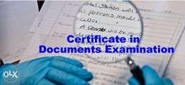 Certificate in Documents Examination