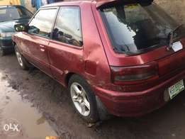 neatly used Mazda 323 manual