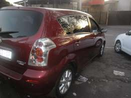 2007 Maroon Toyota Corolla Veros 1.6 with a sunroof for sale