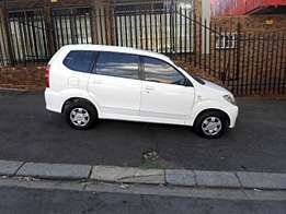 Toyota avanza in a good running condition on offer for R67000